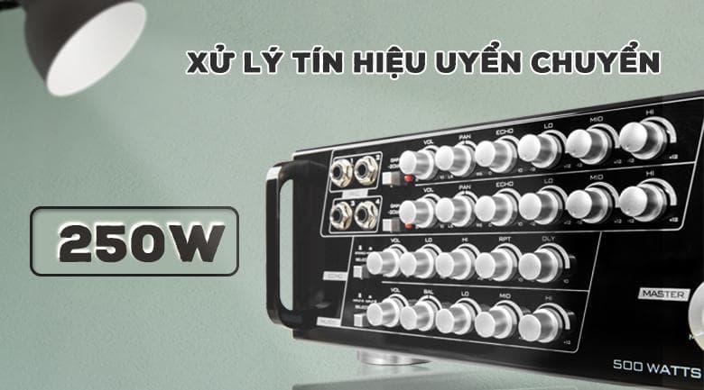 Amply karaoke Paramax SA - 999 Piano New sử lý tín hiệu uyển chuyển
