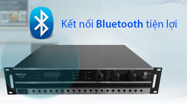Amply PROSOUND TK450 | kết nối bluetooth