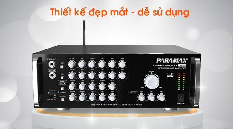 Amply Paramax SA-999 AIR MAX Limited tính năng 2