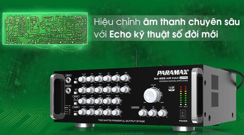 Amply Paramax SA-999 AIR MAX Limited tính năng 3