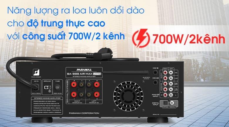Amply Paramax SA-999 AIR MAX Limited tính năng 4