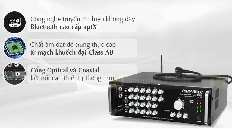 Amply Paramax SA-999 AIR MAX Limited tính năng 1