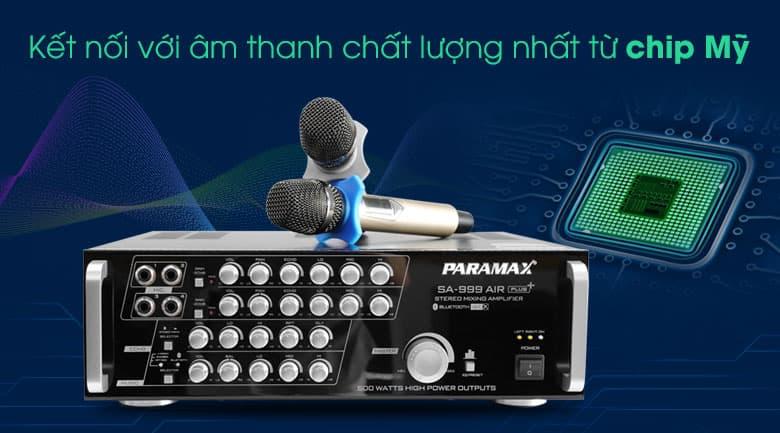 Amply Paramax SA-999 AIR Plus tính năng 2
