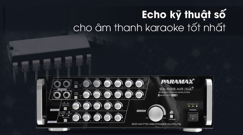 Amply Paramax SA-999 AIR Plus tính năng 6