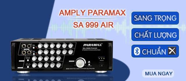 Amply Paramax SA 999 AIR