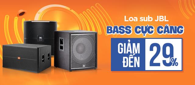 Loa sub JBL bass cực căng