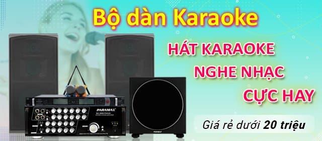 Bộ dàn hát karaoke, nghe nhạc cực hay