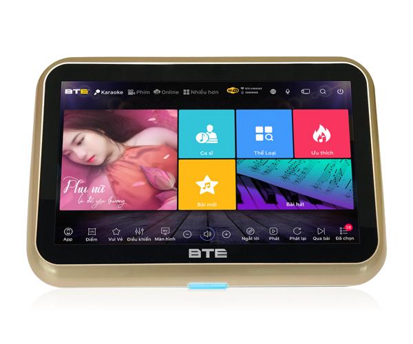 Đầu BTE V680 liền màn hình cảm ứng
