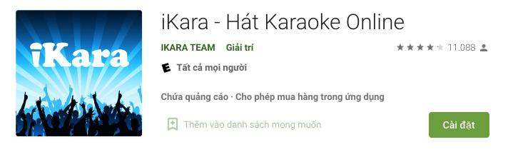 Cài đặt phần mềm Ikara