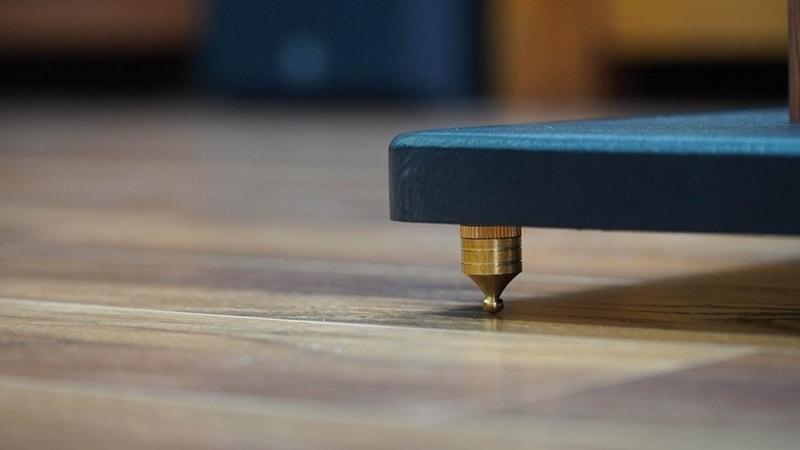 Chân loa gỗ cao 70cm