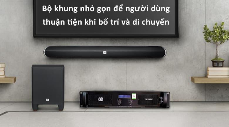Cục đẩy AM DK500 Pro   Thuận tiện bố trí và di chuyển