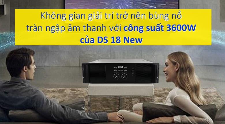 Cục đẩy AM DS 18 new | Công suất 3600W bùng nổ trong mọi không gian