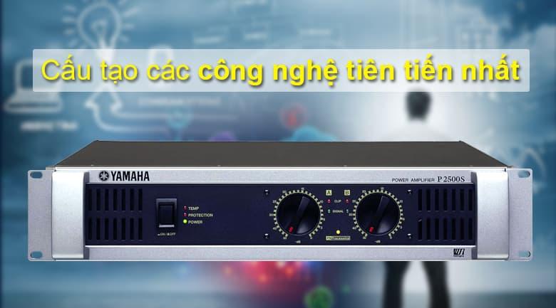 Cục đẩy Yamaha P2500S | Cấu tạo các công nghệ tiên tiến nhất