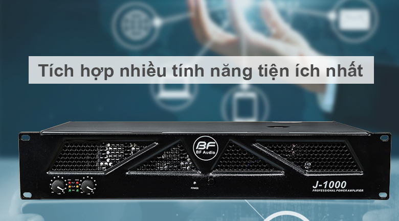 Cục đẩy BF Audio J1000 | Tích hợp nhiều tính năng tiện ích nhất