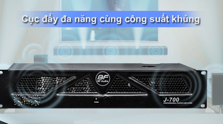 Cục đẩy BF Audio J700 | Cục đẩy đa năng cùng công suất khủng