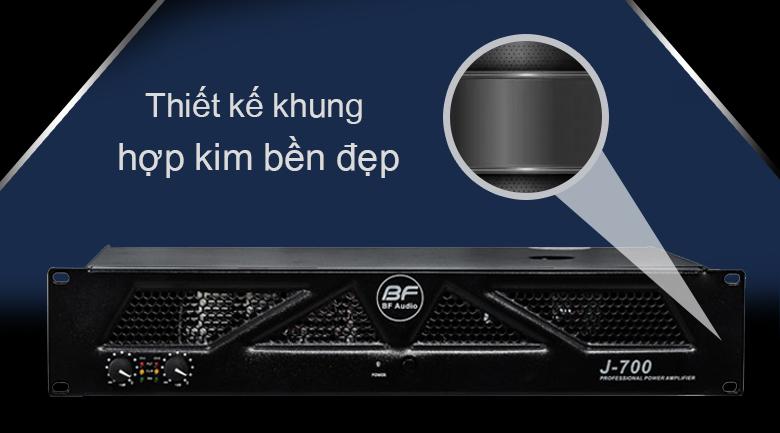 Cục đẩy BF Audio J700 | Thiết kế khung hợp kim bền đẹp