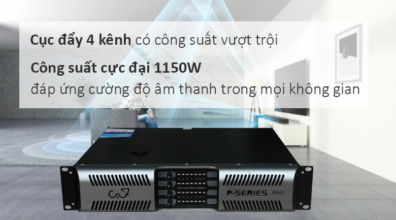 Cục đẩy CAF P800 Pro | Cục đẩy 4 kênh bán chạy nhất