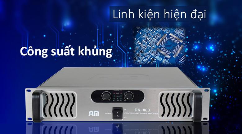 Cục đẩy AM DK800 | Công suất khủng - Linh kiện hiện đại