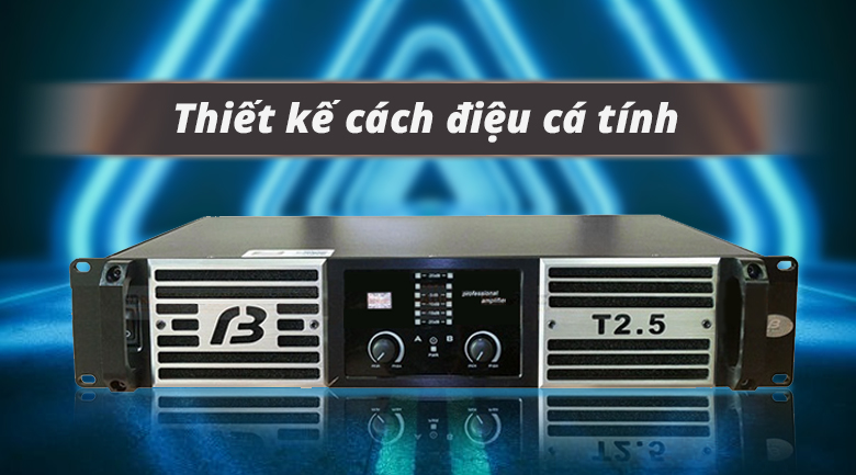 Cục đẩy BF Audio T2.5 | Thiết kế cách điệu cá tính