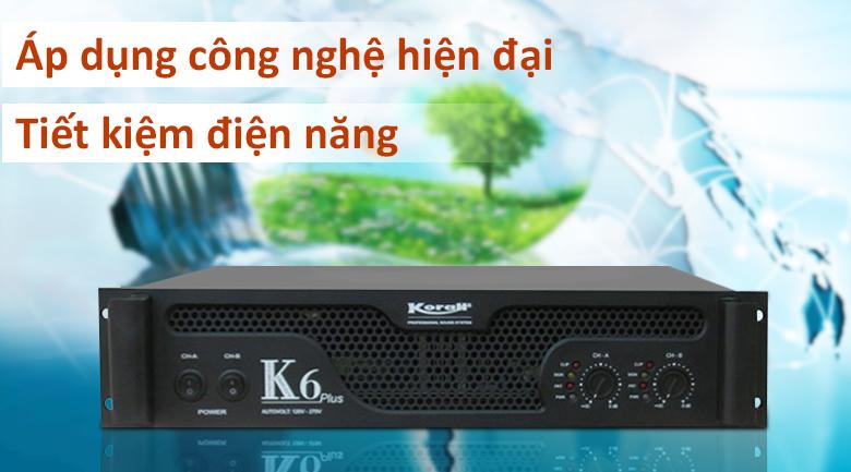 Cục đẩy Korah K6 Plus | Tiết kiệm điện