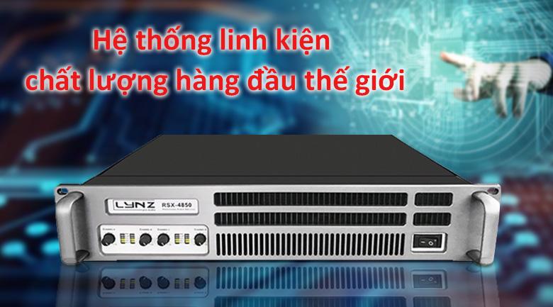 Cục đẩy LYNZ RSX 4850 | Hệ thống linh kiện chất lượng hàng đầu thế giới