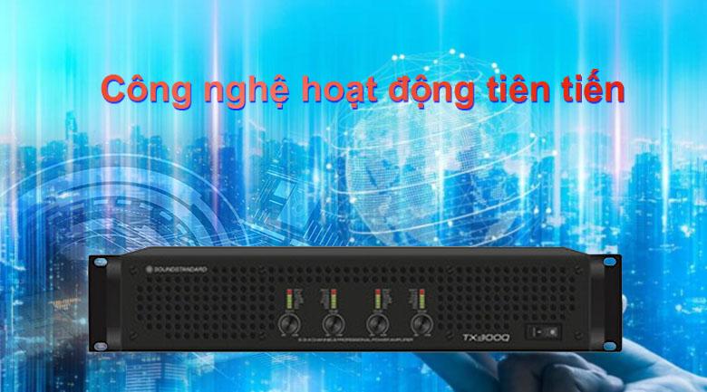 Cục đẩy SoundStandard TX300Q   Công nghệ hoạt động tiên tiến