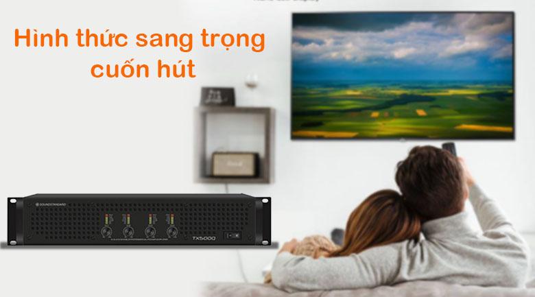 Cục đẩy SoundStandard TX500Q | Hình thức sang trọng cuốn hút