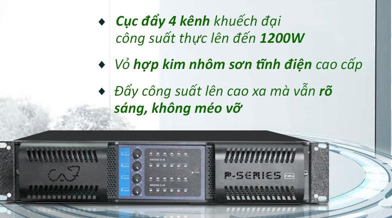 Cục đẩy CAF P48 Pro | Cục đẩy hiện đại