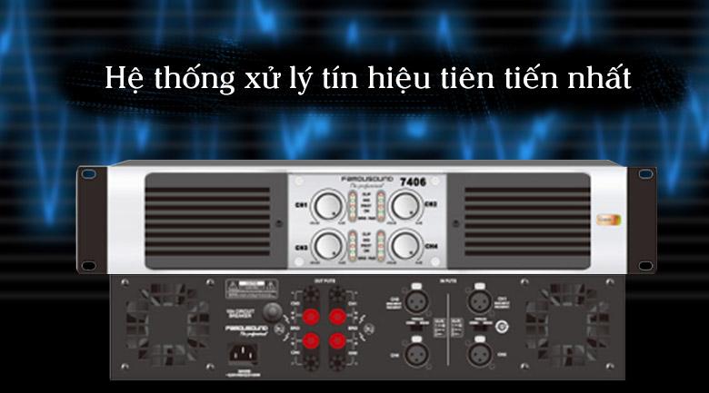 Cục đẩy Famousound 7406 | Hệ thống xử lý tín hiệu tiên tiến nhất