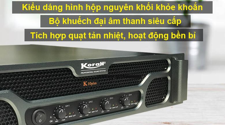 Cục đẩy Korah K10 Plus
