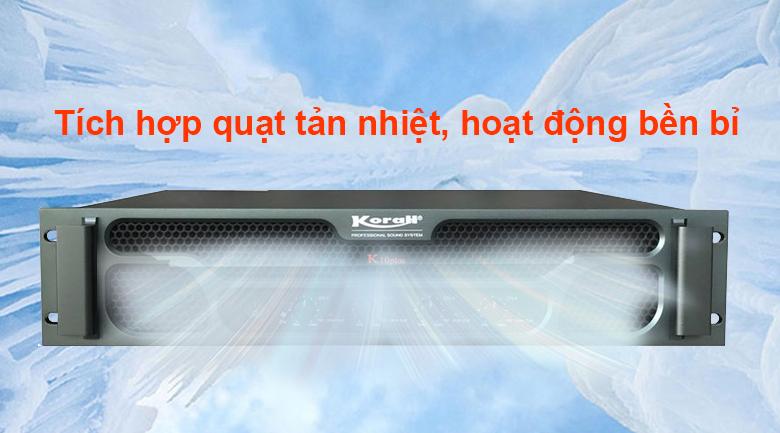 Cục đẩy Korah K10 Plus | Hoạt động bền bỉ
