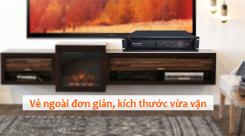 Cục đẩy Korah CDT1200 | Thiết kế gọn gàng