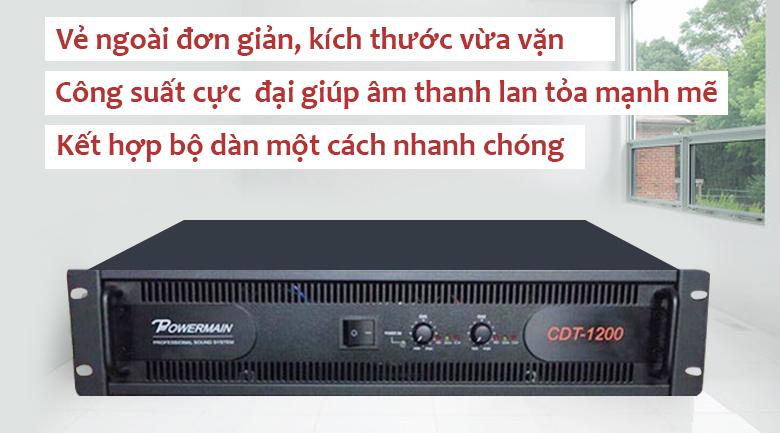 Cục đẩy Korah CDT1200