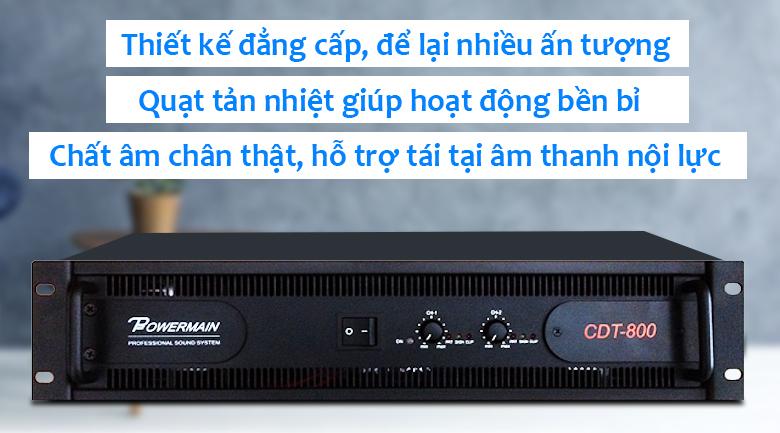 Cục đẩy Korah CDT800