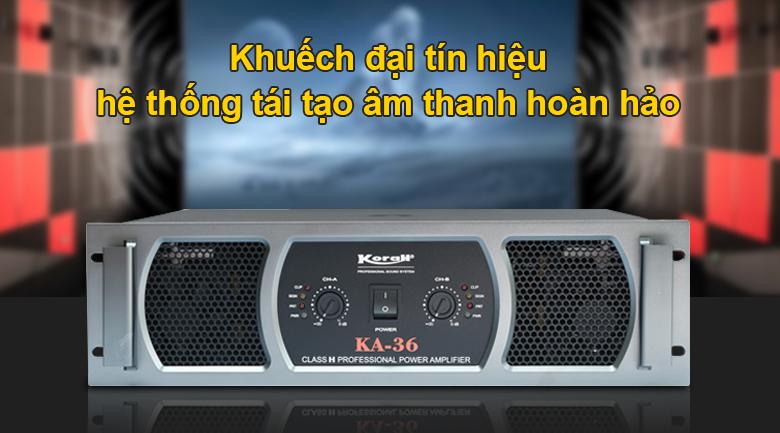 Cục đẩy Korah K36 | Khuếch đại âm thanh lớn