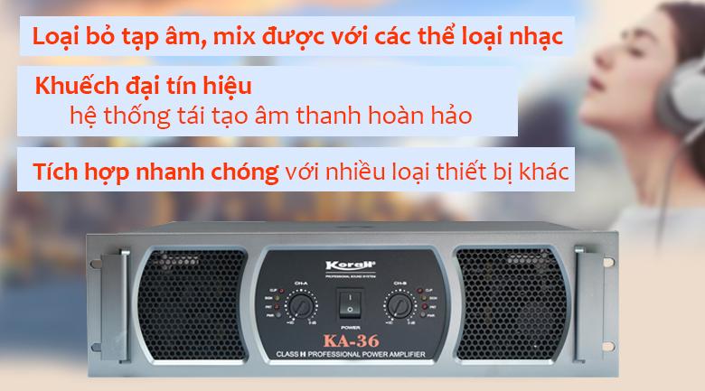 Cục đẩy công suất Korah KA39
