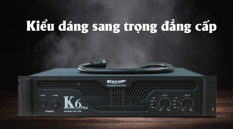 Cục đẩy công suất Korah K6 | Thiết kế đẳng cấp