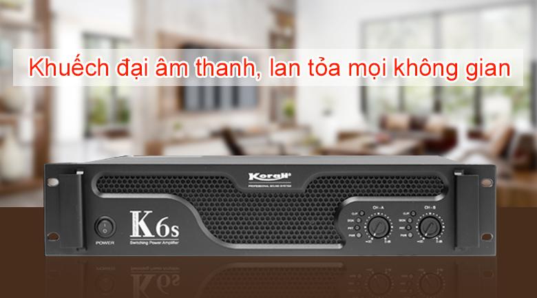 Cục đẩy công suất Korah K6S | Khuếch đại âm thanh lớn