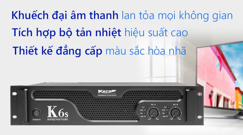 Cục đẩy công suất Korah K6S