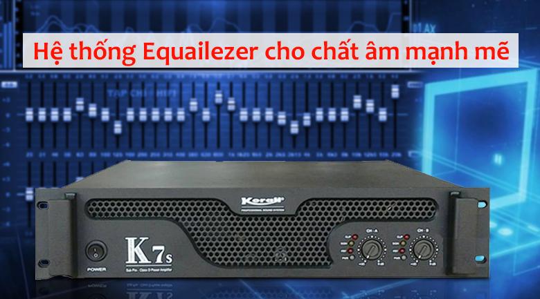 Cục đẩy Korah K7S | Công nghệ hiện đại