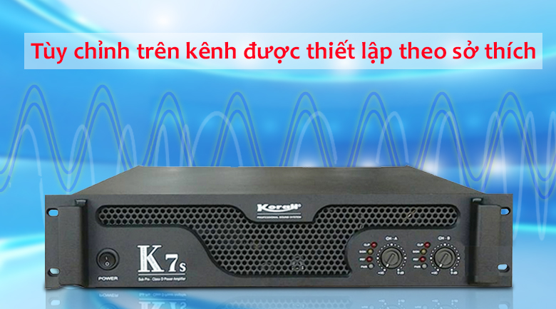 Cục đẩy Korah K7S | Điều chỉnh dễ dàng