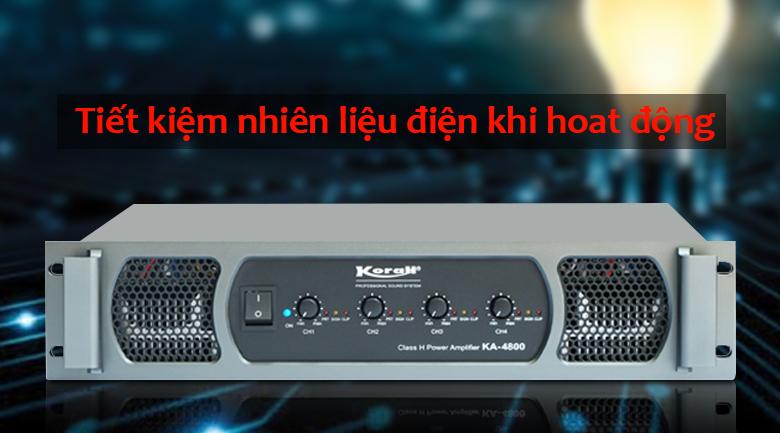 Cục đẩy KORAH KA4800   Tiết kiệm điện