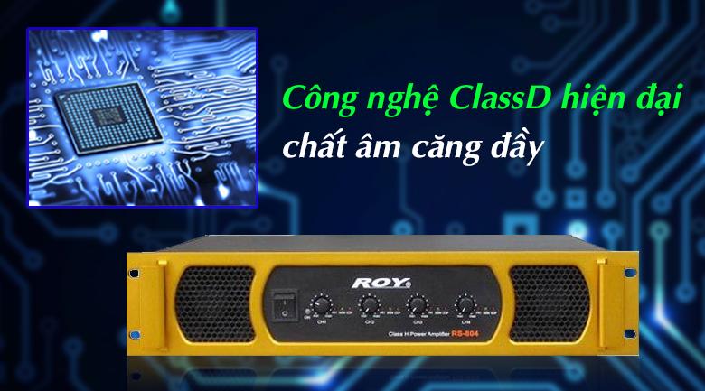 Cục đẩy Korah ROY RS804 | Công nghệ hiện đại