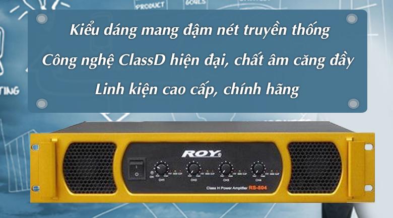 Cục đẩy Korah ROY RS804
