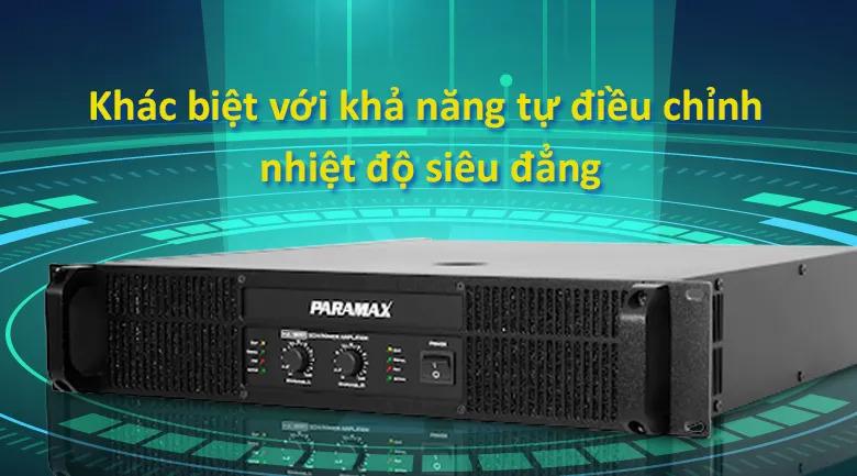Cục đẩy Paramax MA 120   Khác biêt với khả năng tự điều chỉnh nhiệt siêu đẳng