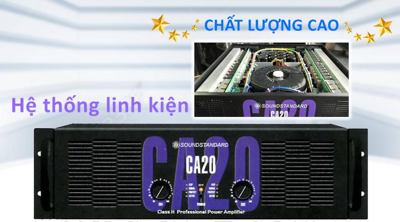 Cục đẩy Soundstandard CA20 | Hệ thống linh kiên chất lượng cao