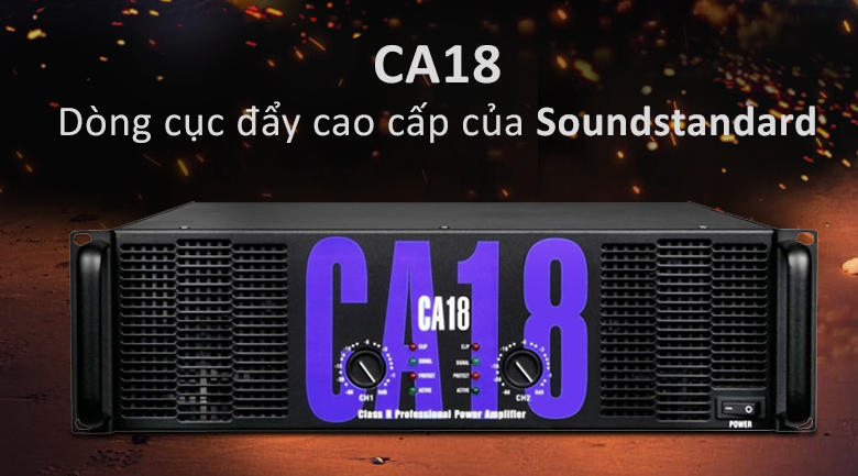 Cục đẩy Soundstandard CA18 | Dòng cục đấy cục caaso của Soundstandard
