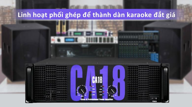 Cục đẩy Soundstandard CA18 | Linh hoạt phối ghép để thành dàn karaoke đắt giá