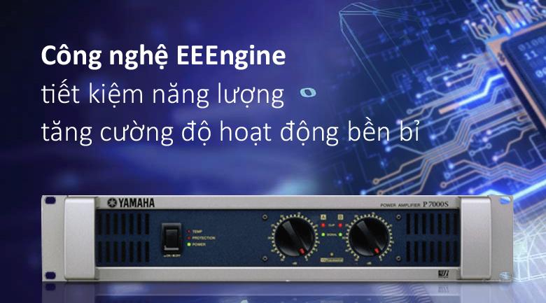 Cục đẩy Yamaha P7000S | Công nghệ EEEngine tiết kiệm năng lượng