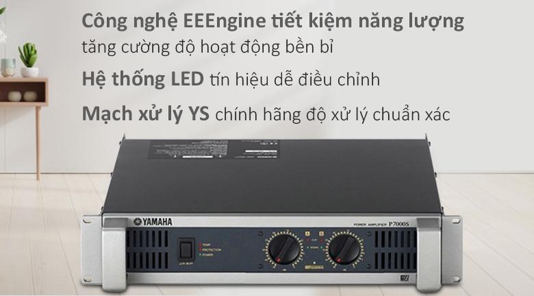 Cục đẩy Yamaha P7000S | Cục đẩy công nghệ cao